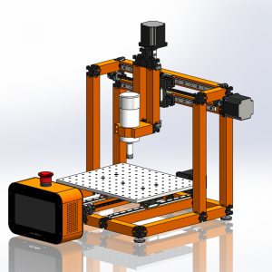UberBlox™ CNC Router with Standalone Touchscreen Controller K2102-22