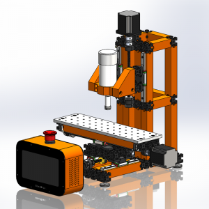 UberBlox™ CNC Milling Machine with Standalone Touchscreen Controller K2201-22